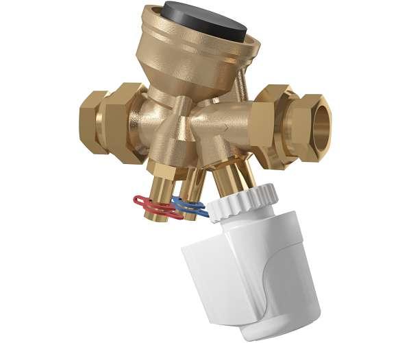 Robinet d'équilibrage et de régulation de la pression compact (COMPACT-P) TA Série7CP