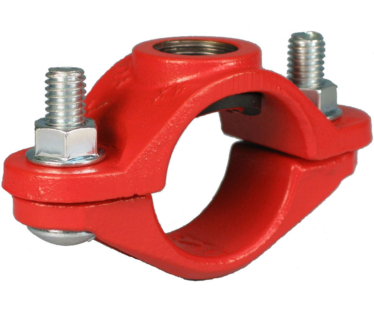 Pipe fittings adapters groove plain end