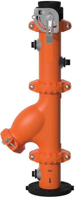 Sorties de pompe anti-vibration à admission