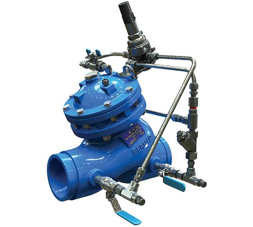 Series 973 Pressure Relief/Sustaining Valve