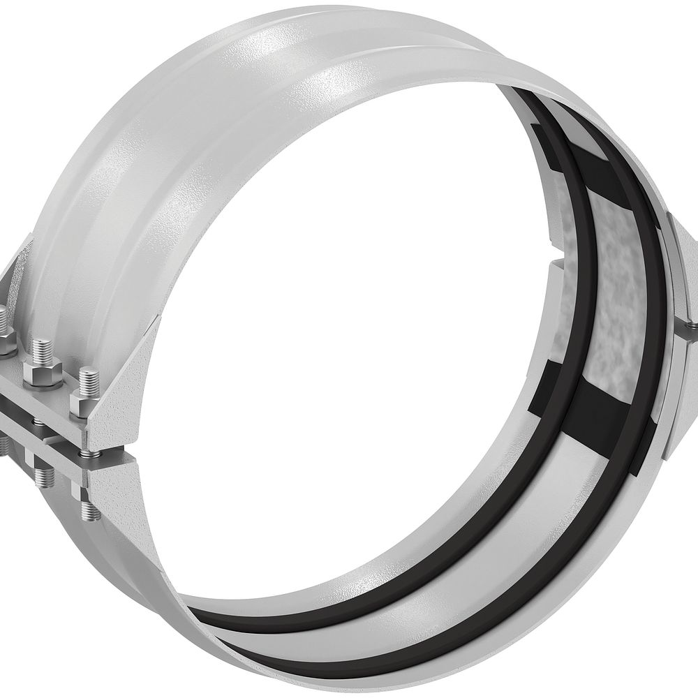 Nicht-kraftschlüssige flexible Kompensatorkupplung für Edelstahl Typ 231S