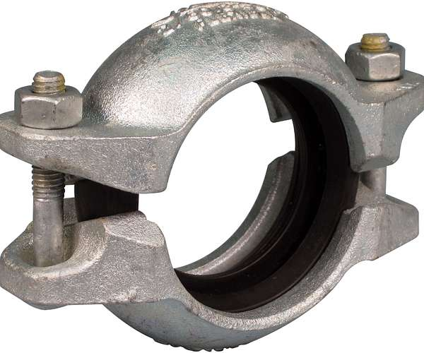 Acople flexible Installation-Ready™ Estilo SC77 para tuberías de acero con reborde