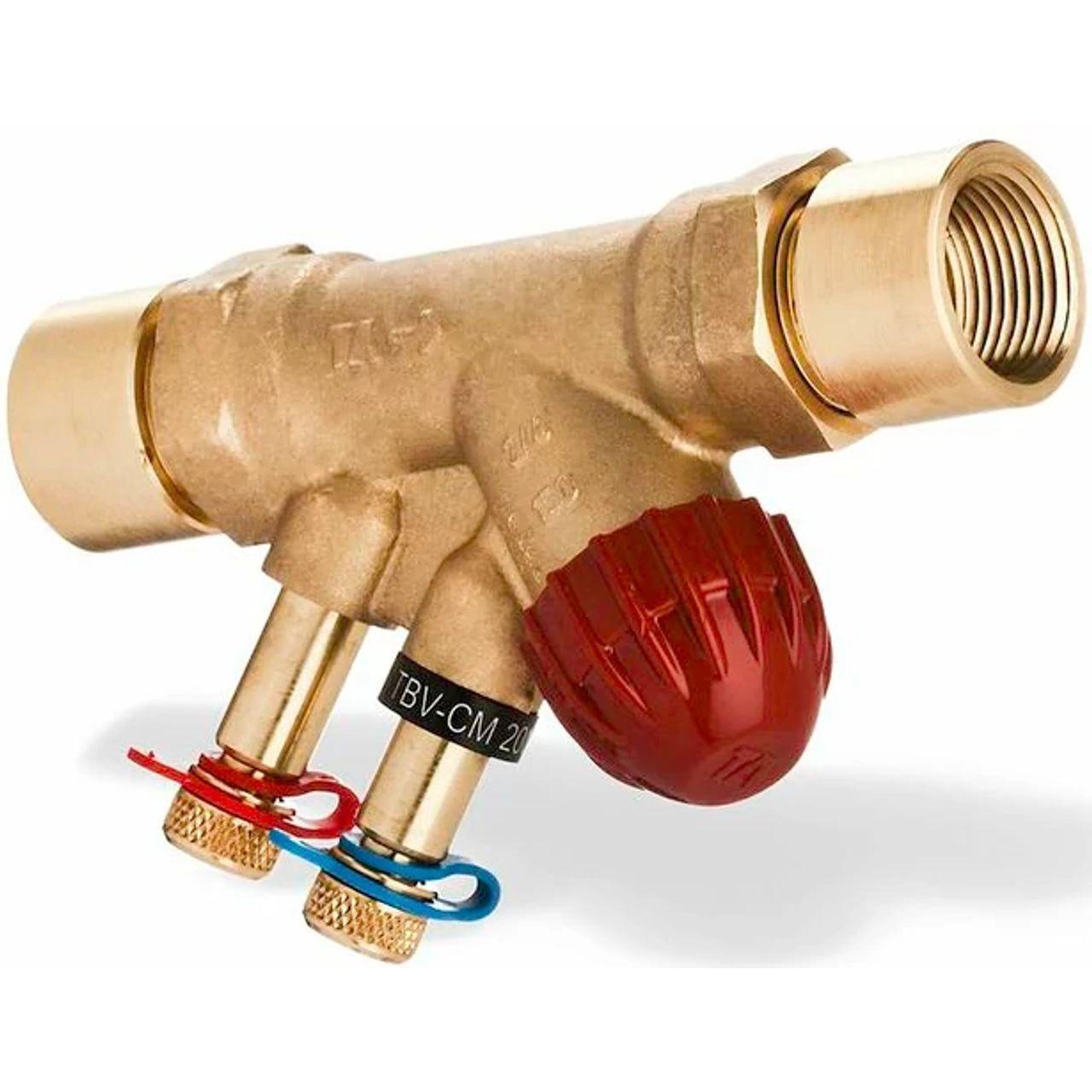 Vanne terminale de contrôle et d'équilibrage pour le contrôleur ouvert/fermé et variable