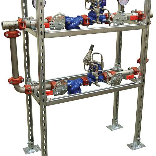 Series 386 Pressure Reducing Valve Stations