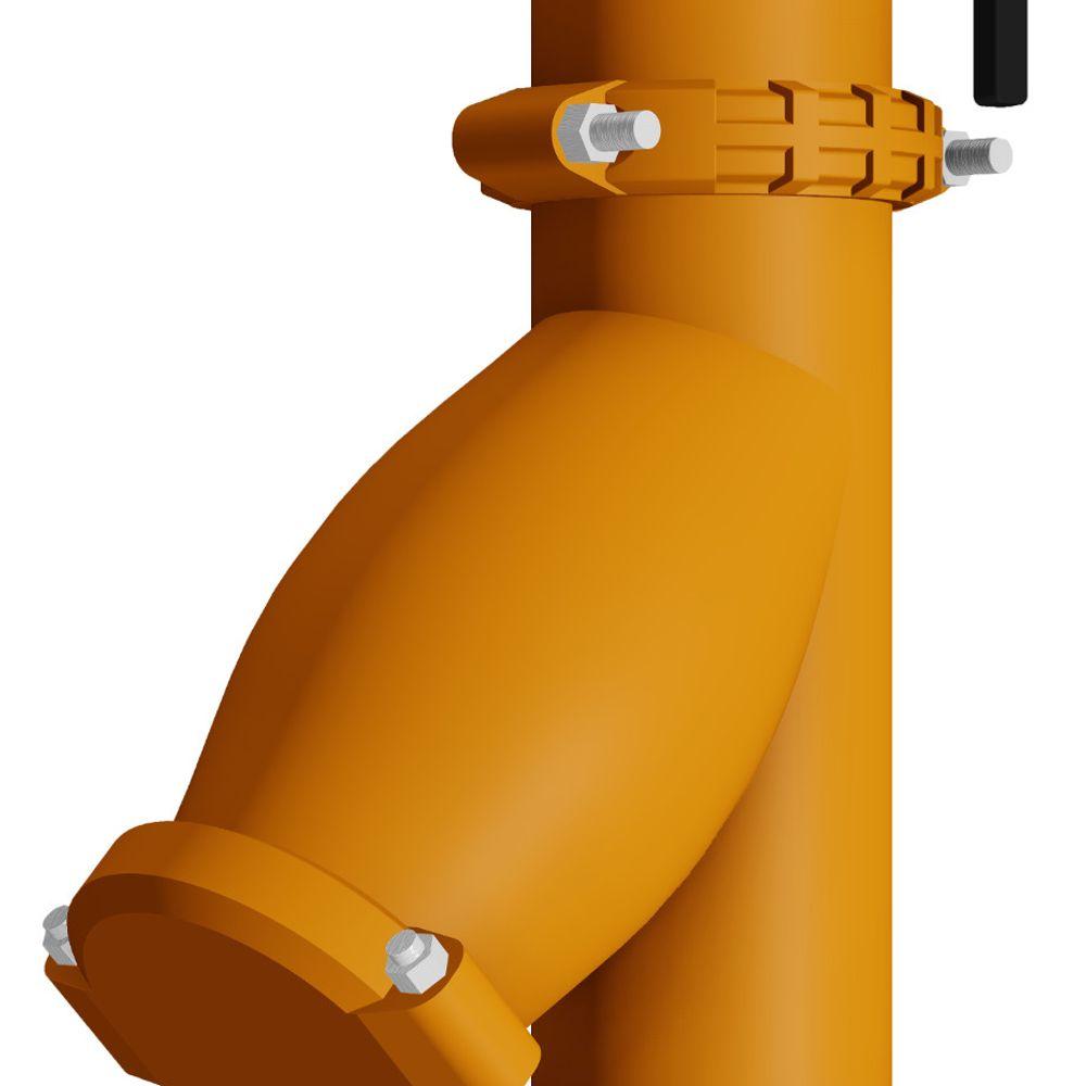 Fallrohre Schwingungsisolierung Einlass Pumpe