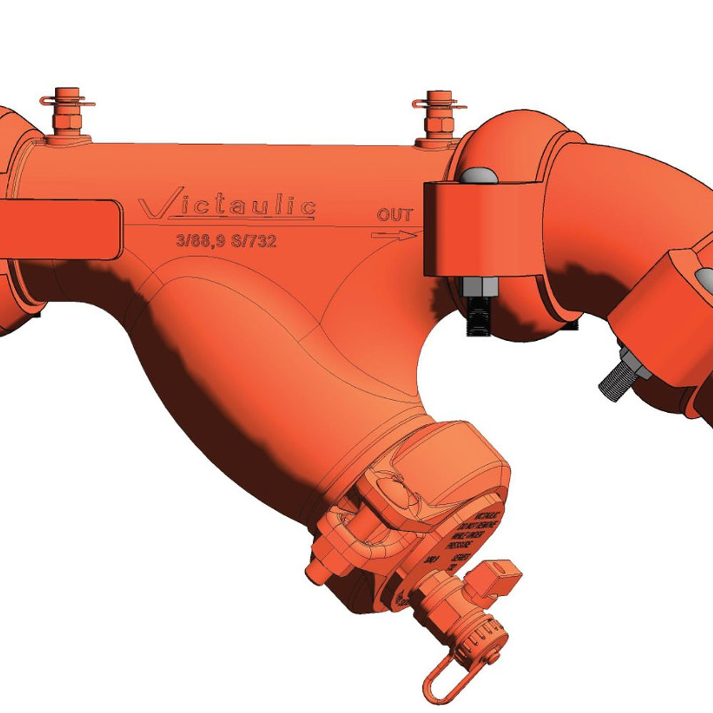 Fallrohr Schwingungsisolierung Lüftungsgerät (AHU) Serie 385