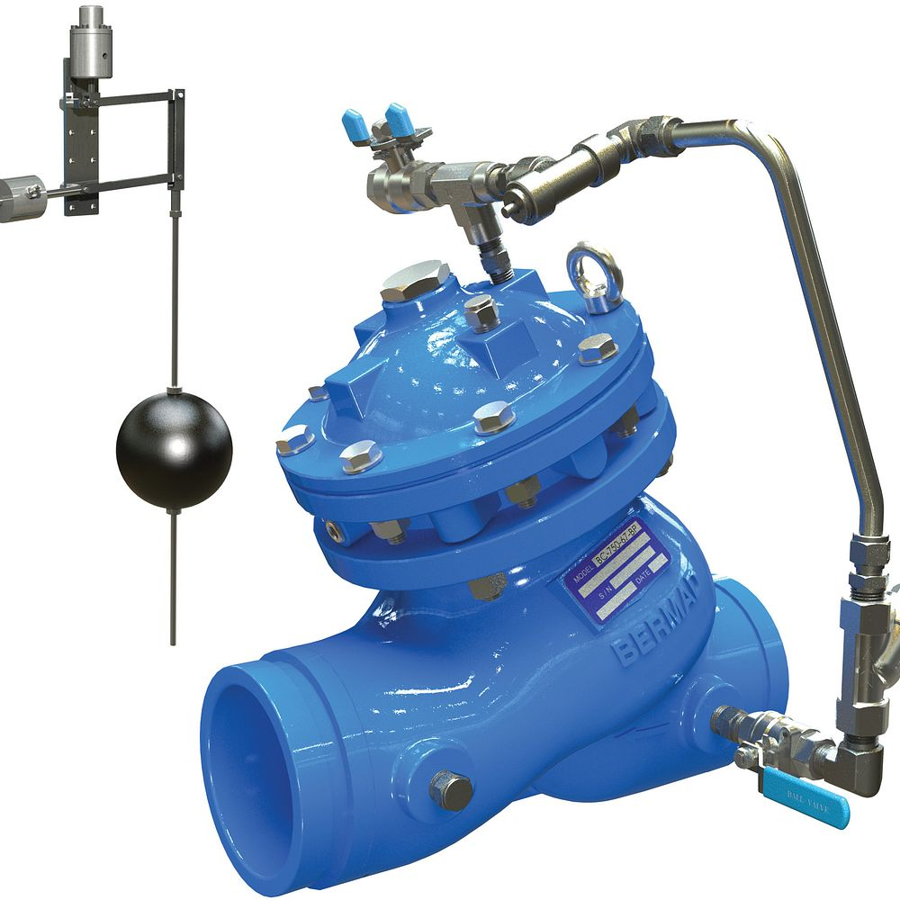 Series 975-67 Level Control Valve with Modulating Vertical Float