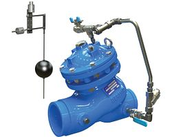 Válvula de control de nivel con flotador modulador vertical serie 975-67