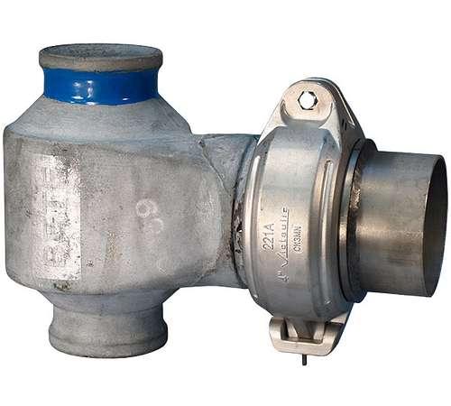 Style 221A Flue Gas Nozzle Coupling
