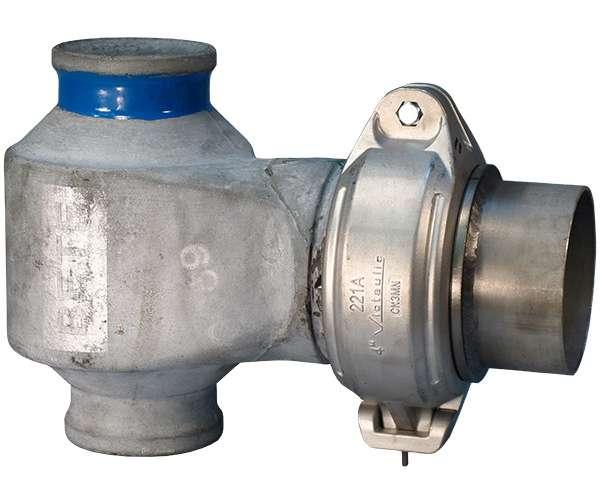 Collier à buse pour gaz de fumée Style221A