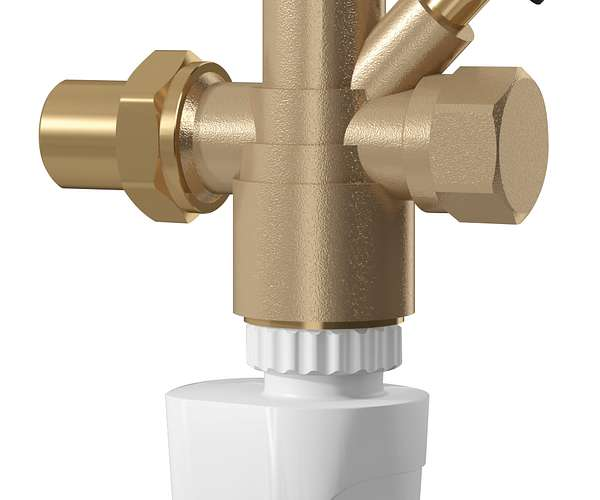 TA Series 7CT (COMPACT-T) Control Valve with Return Temperature Controller