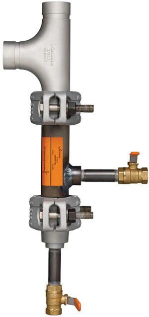 Kondensatsammelstutzen für Dampf- und Kondensatanwendungen