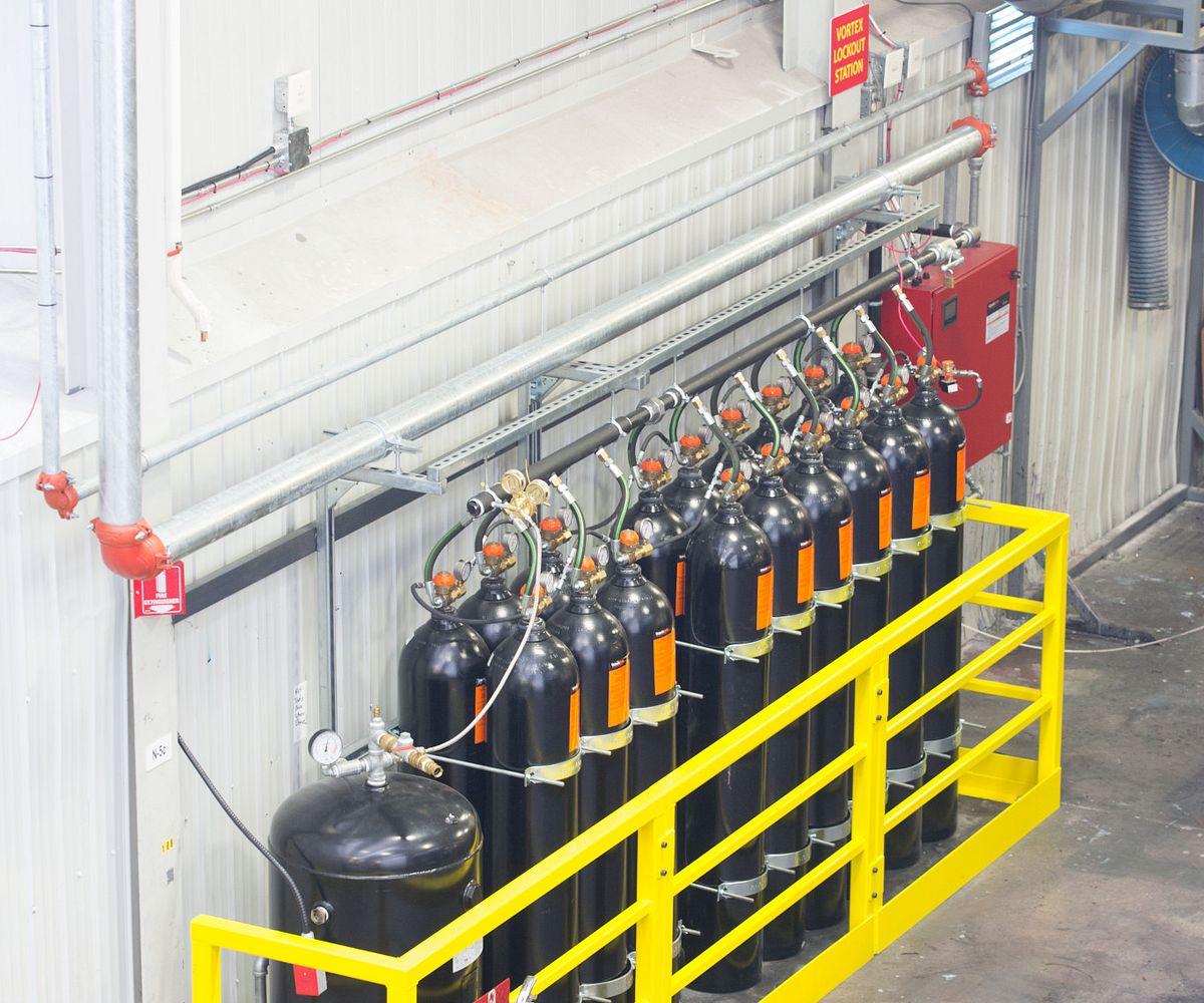 Victaulic Vortex™ 1500 Fire Suppression System