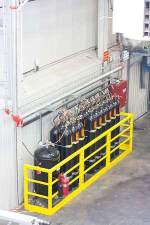 Sistema de supresión de incendios Victaulic Vortex™ 1500