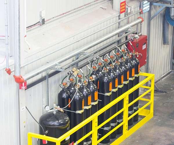 Victaulic Vortex™ 1500 Hybrid Fire Extinguishing System
