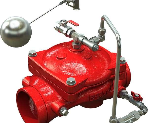 Válvula de control de nivel Serie 866-460