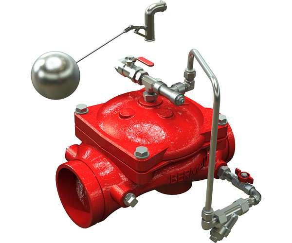 Vanne de contrôle de niveau série866-480
