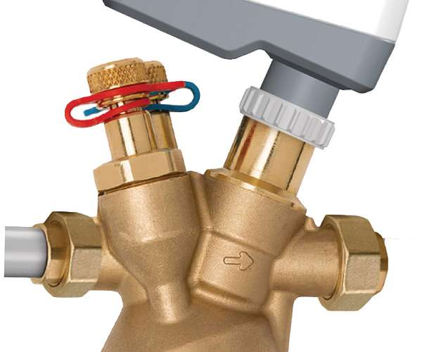 Válvula de balanceo y control modulador independiente de la presión TA Serie 7MP