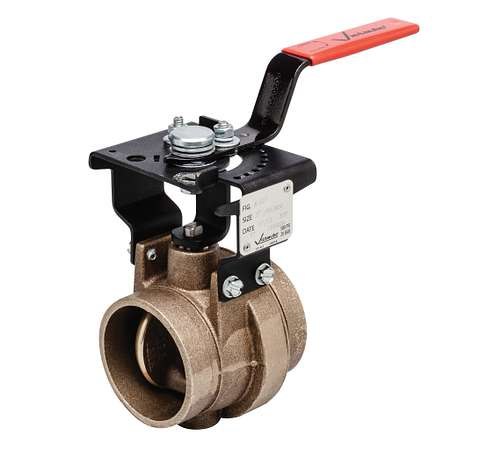 Series 608N Grooved Butterfly Valve for Copper