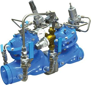 Watchdog Pressure Reducing Valve (PRV) Combo with Integrated Low-Flow Bypass