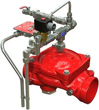 """Serie 869E-3D Sprühflutventilstation """"Auf/Zu"""" mit elektrischer Auslösung und Fernsteuerung"""