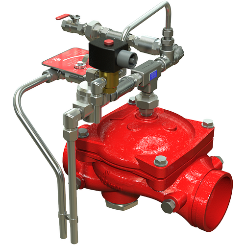 Series 869E-3D Electrically Operated Remote Operation On/Off Deluge Valve