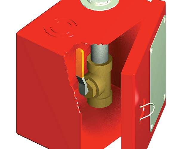 Panel de descarga manual FireLock™ Serie 755