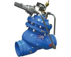 Válvula de corte para exceso de presión