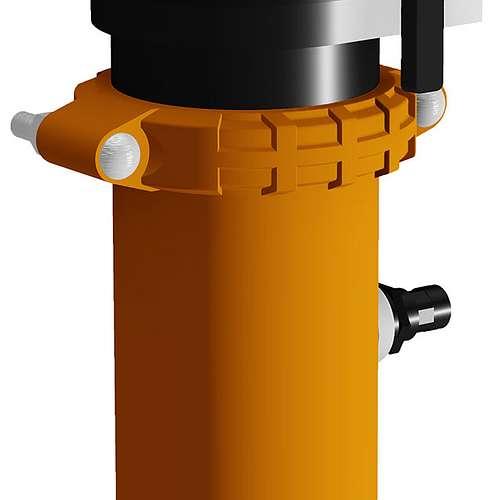 Fallrohre Schwingungsisolierung Auslass Pumpe