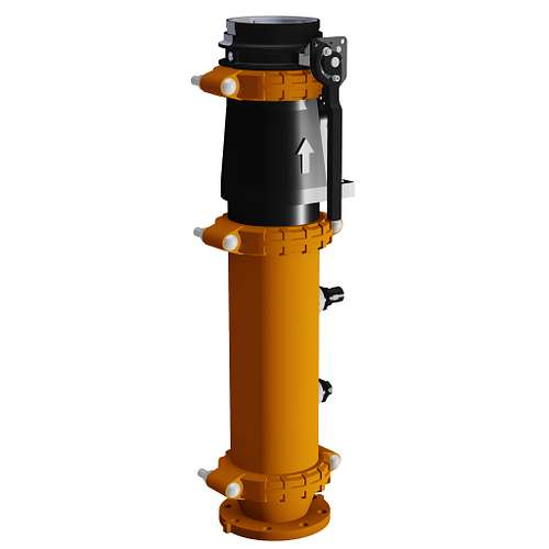 Outlet Vibration Isolation Pump Drops