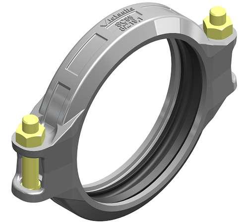 Flexible Kupplung für Stahlrohre mit Ansatz Typ SC85