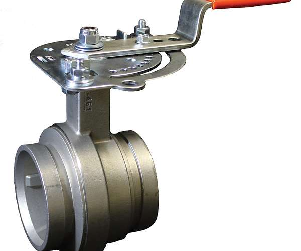 Series 461/Series E461 Vic-300 MasterSeal™ Stainless Steel Butterfly Valve