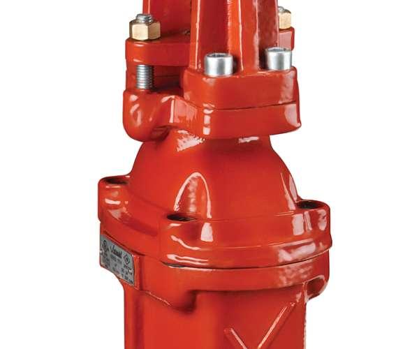 FireLock™ Absperrschieber mit außenliegender Spindel + Bockaufsatz Serie 771H