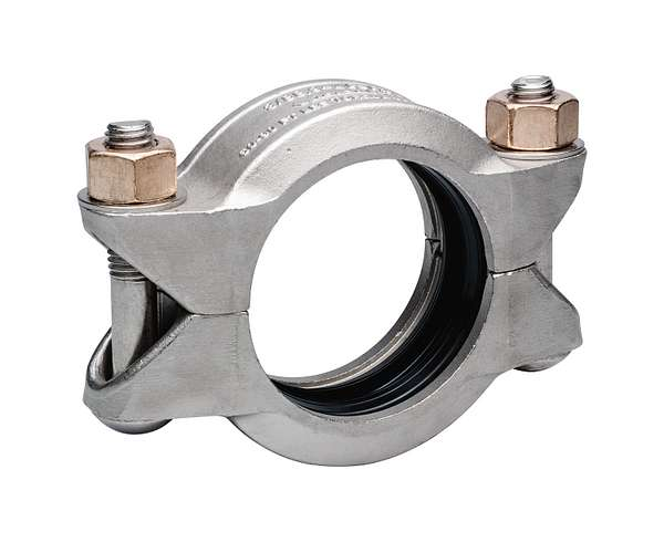 Style 489DX Duplex Stainless Steel Rigid Coupling