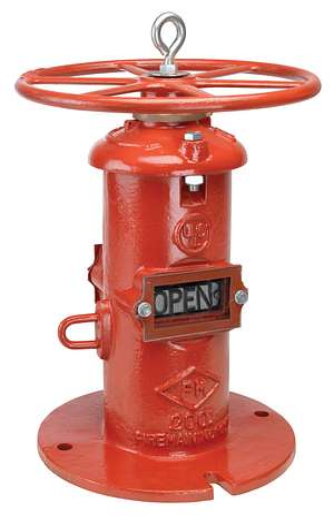 773 系列 FireLock™ NRS 墙柱式指示器