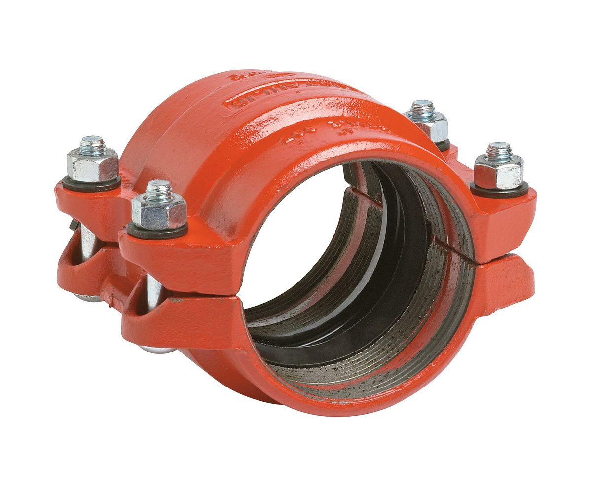 Victaulic style n plain end coupling pipe