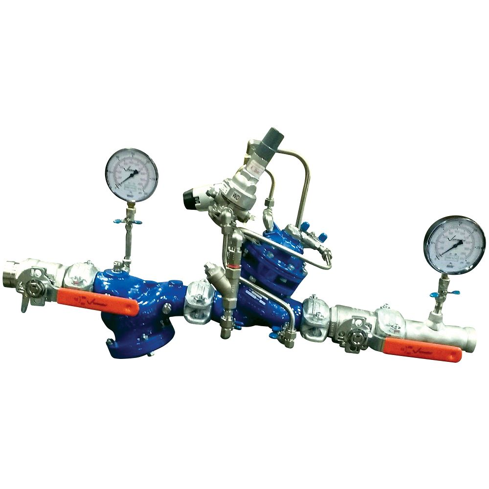 Series 386-SB Single Branch Pressure Reducing Valve Station