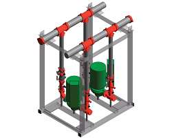 Series 387 and Series 388 Modular Dual Pump Skids