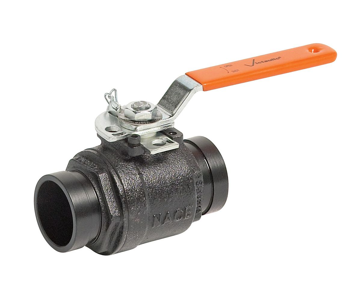 Victaulic series ball valve flow control