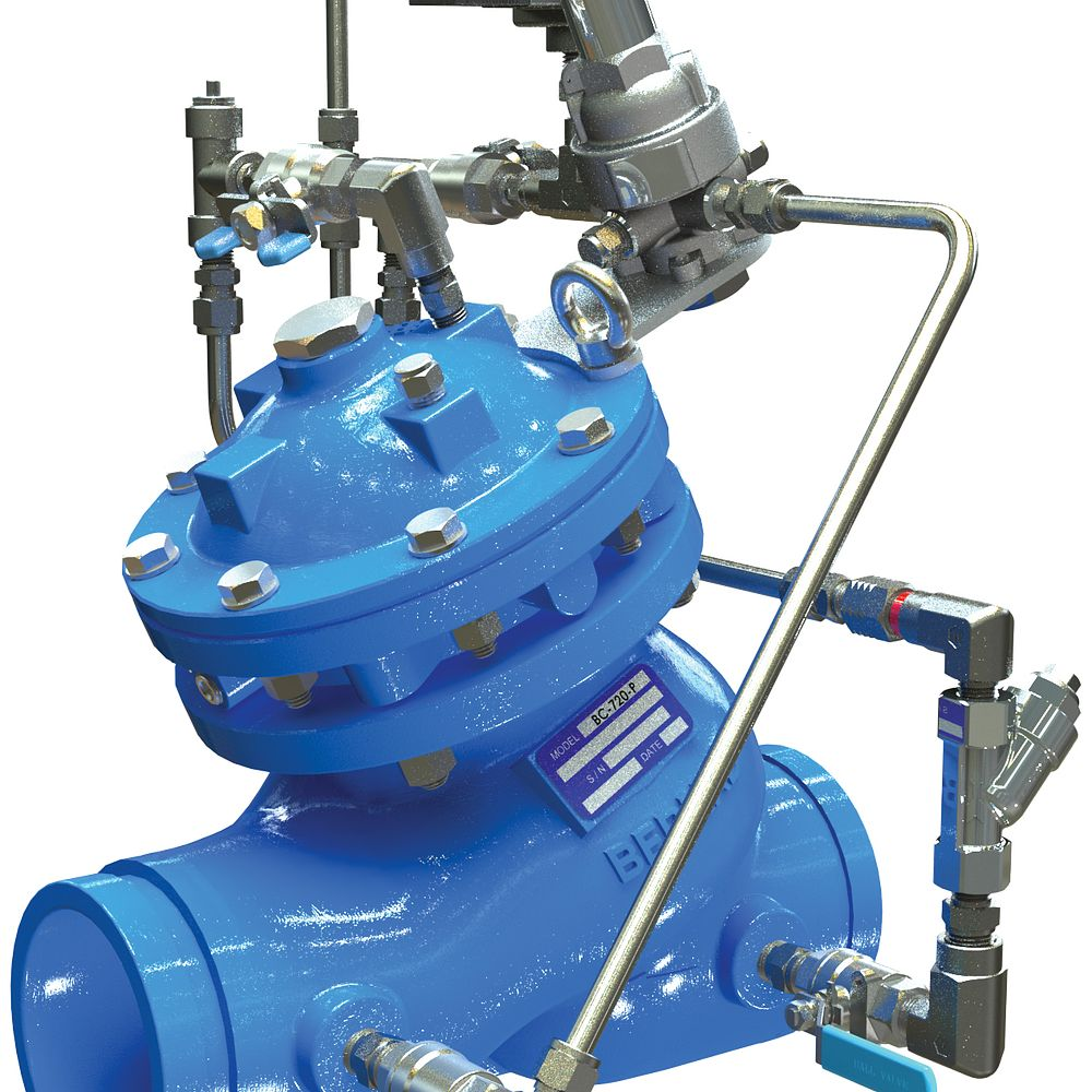 Series 972-55 Pressure Reducing Valve with Solenoid Control
