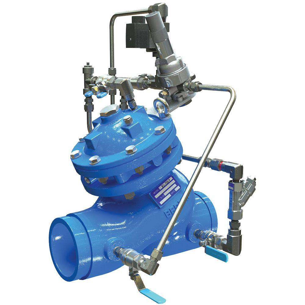 Vanne de réduction de pression à commande électrique série 972-55