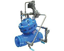 Válvula reductora de presión con control de solenoide serie 972-55