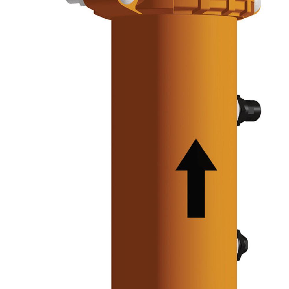 Bajadas para bombas de salida con aislación de vibraciones