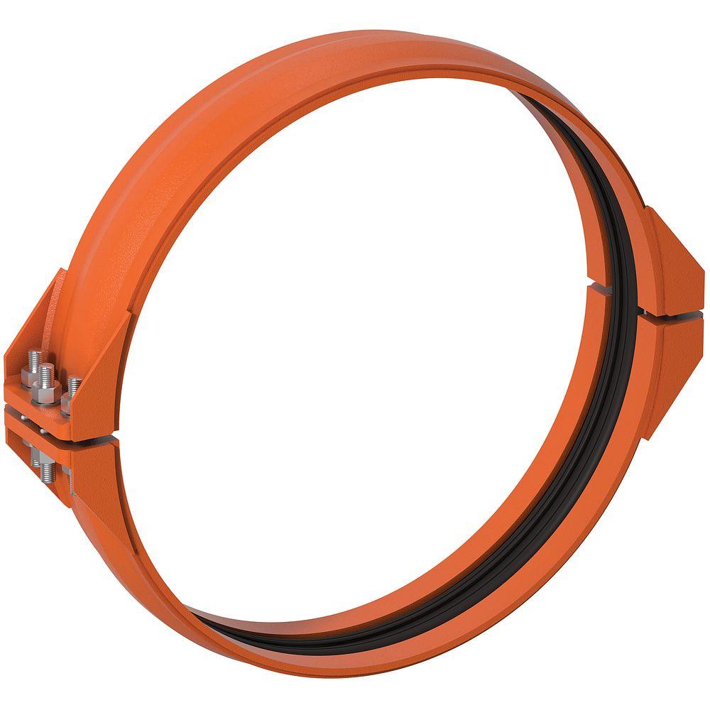 Collier flexible à retenue style 233 pour déviation angulaire de joint dynamique