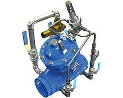 Clapet de réduction de pression avec bypass débit faible