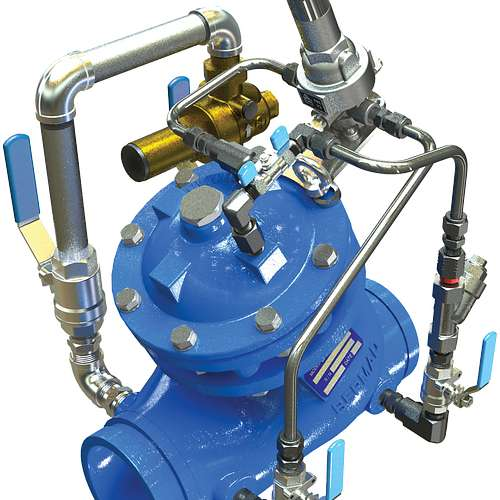 Series 972-2B Pressure Reducing Valve with Low-Flow Bypass