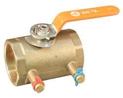 Válvula esférica de balanceo TA Serie 78BL