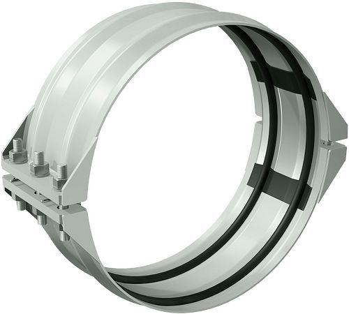 Flexible Spannkupplung Typ 233 für die dynamische Abwinklung der Verbindung