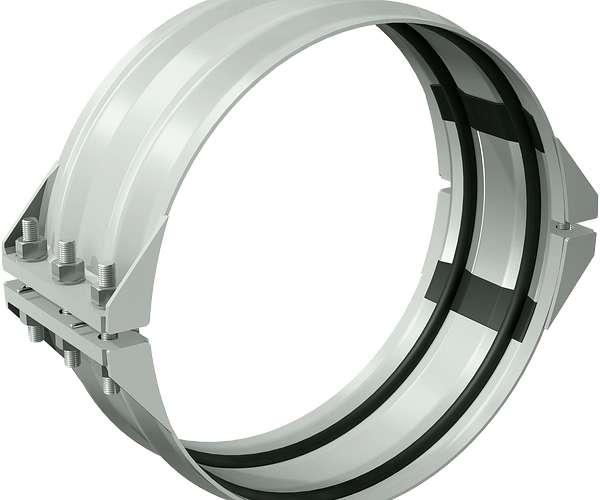 Style 230S Nicht-kraftschlüssige flexible Kupplung für Edelstahl