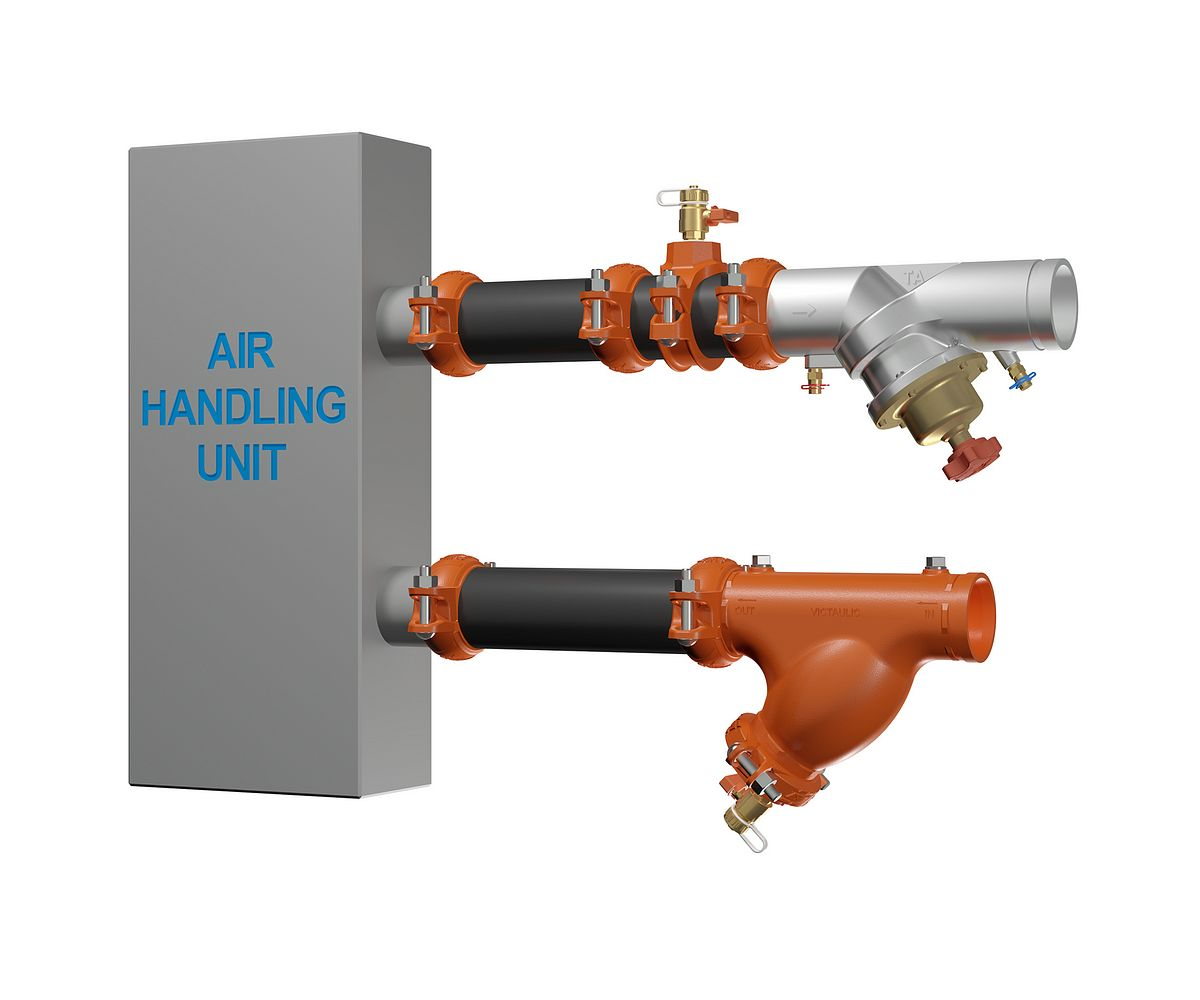 Victaulic Koil Kit Coil Packages For Air Handling Units